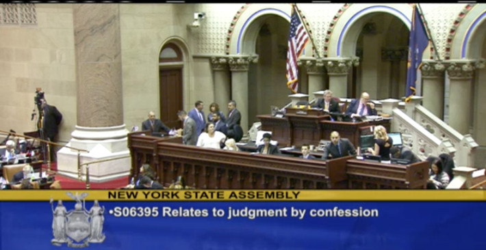 Assembly Floor Vote