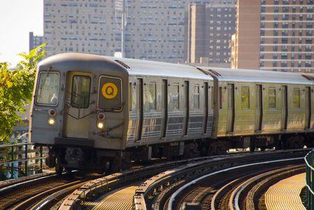 Q train nyc